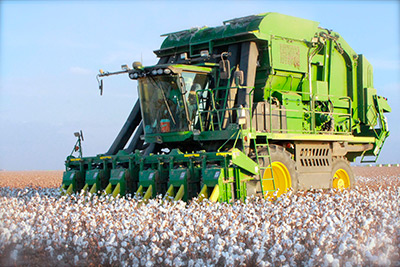 Cotton picker machine - photo